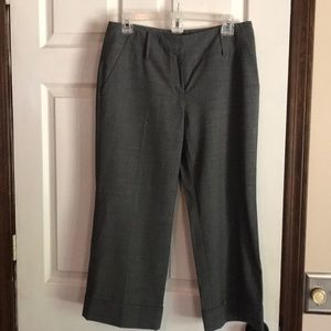 Size 6 Micheal Kors trouser's in charcoal gray